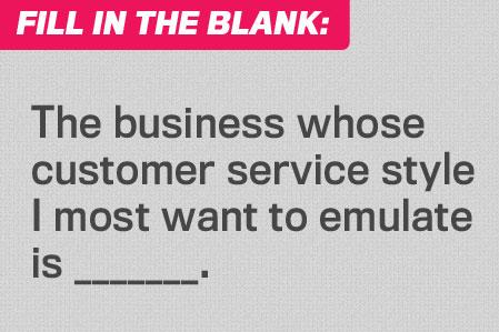 Fill in the Blank: Dream Service