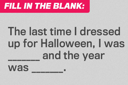 Fill in the Blank: Costume