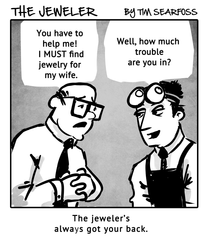 The Jeweler: Trouble