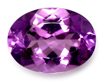Amethyst is February's birthstone