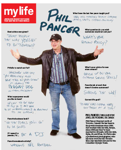 profile of jeweler Phil Pancer