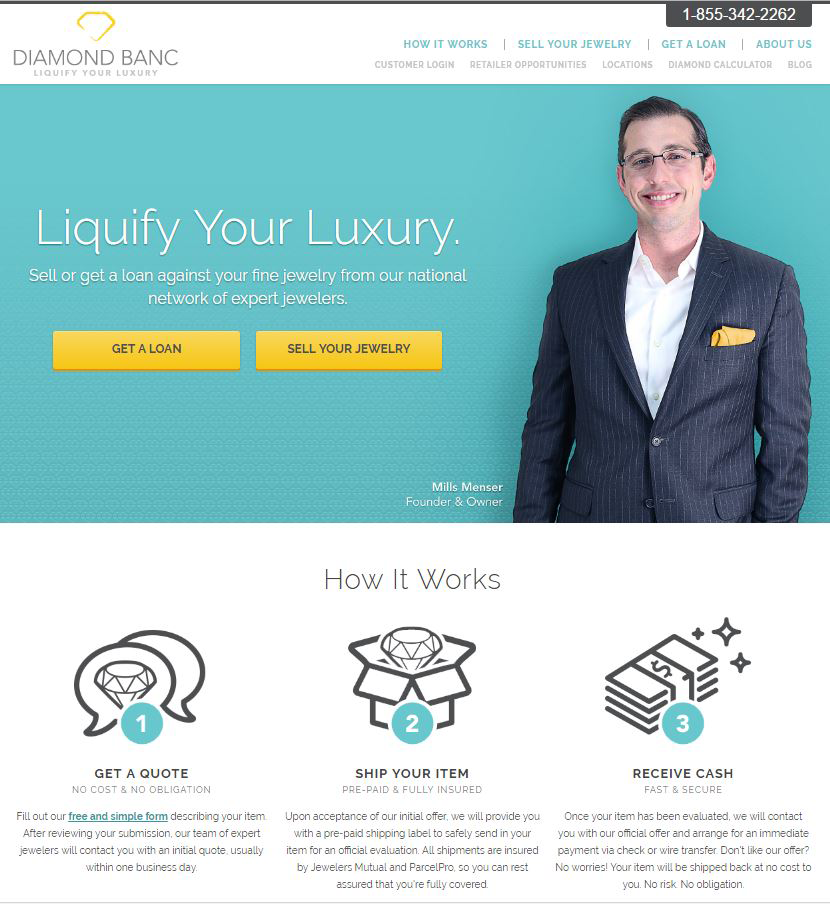 Industry Leading Liquidity Solutions for Jewelers