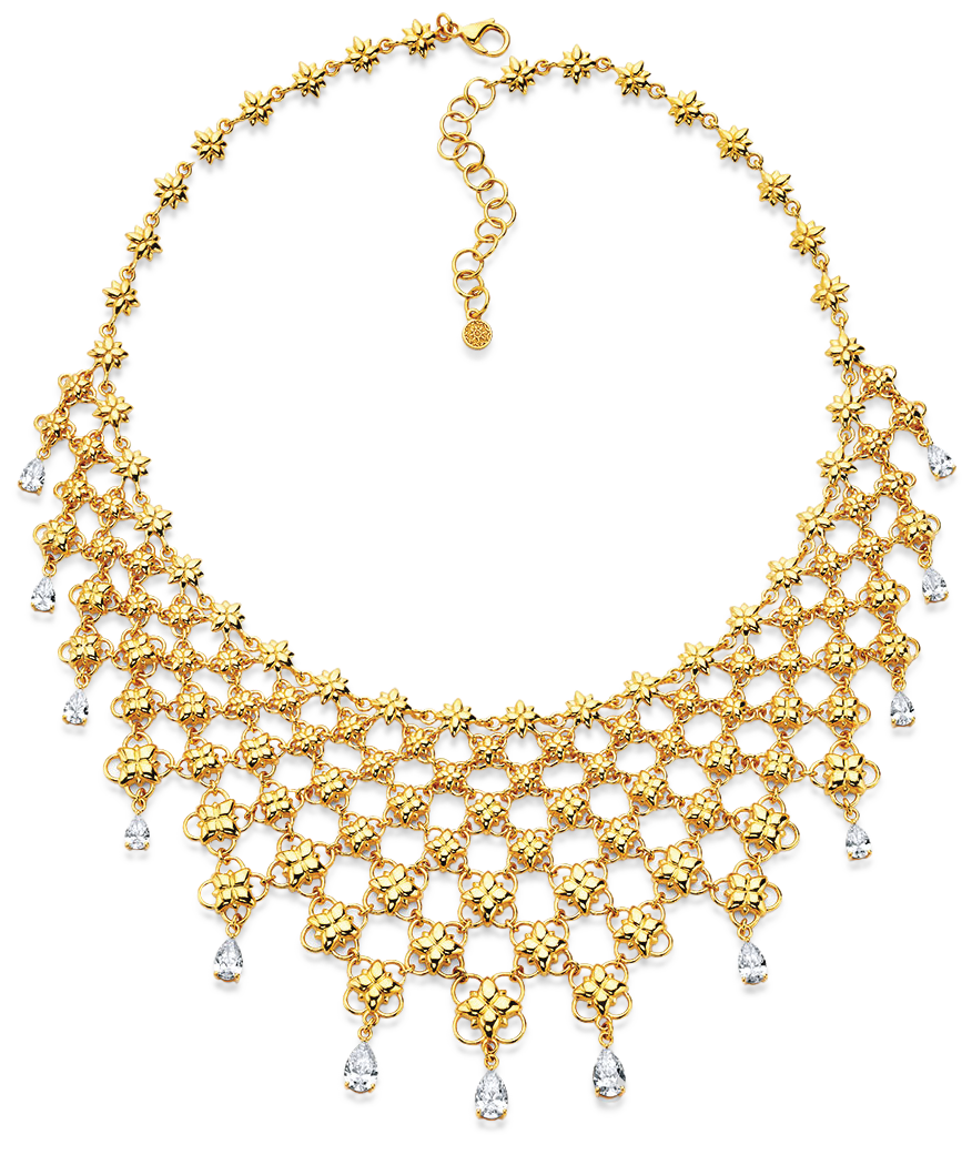 gold necklace designs by png