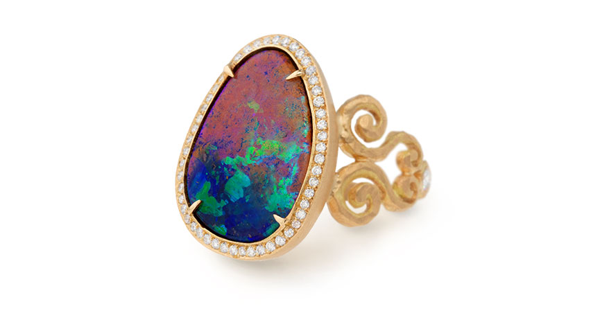 Double Arabesque ring from Pamela Froman