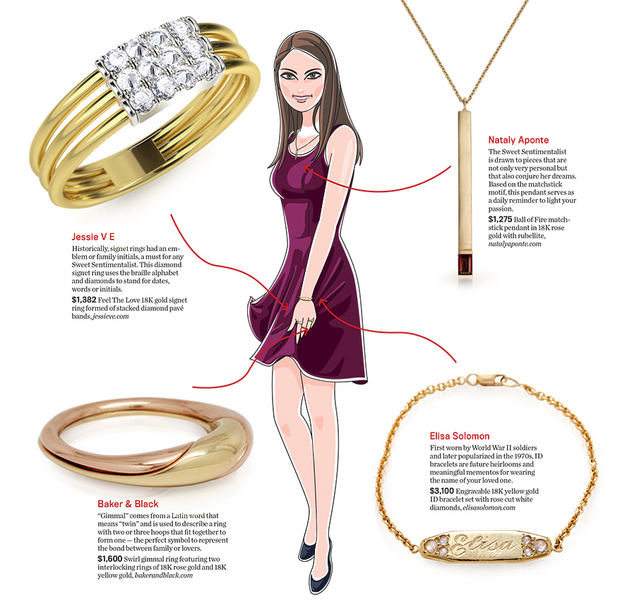4 Sweet, Meaningful Styles for the Sentimental Jewelry Buyer