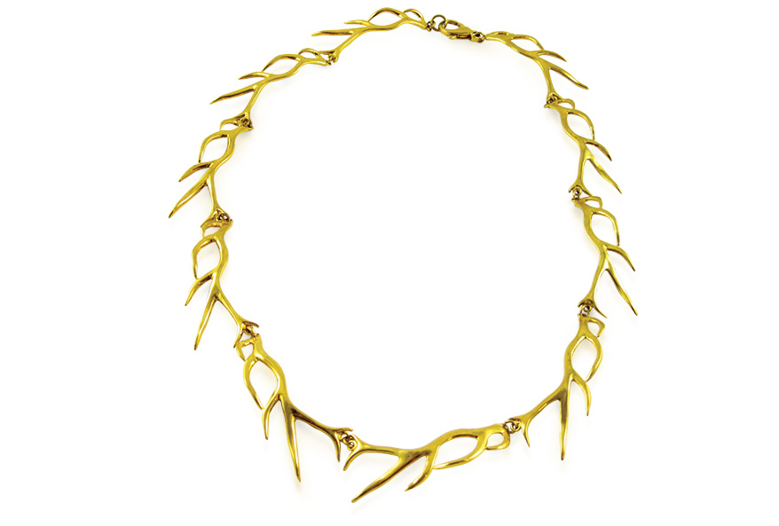 K. Brunini Objects Organique antler necklace