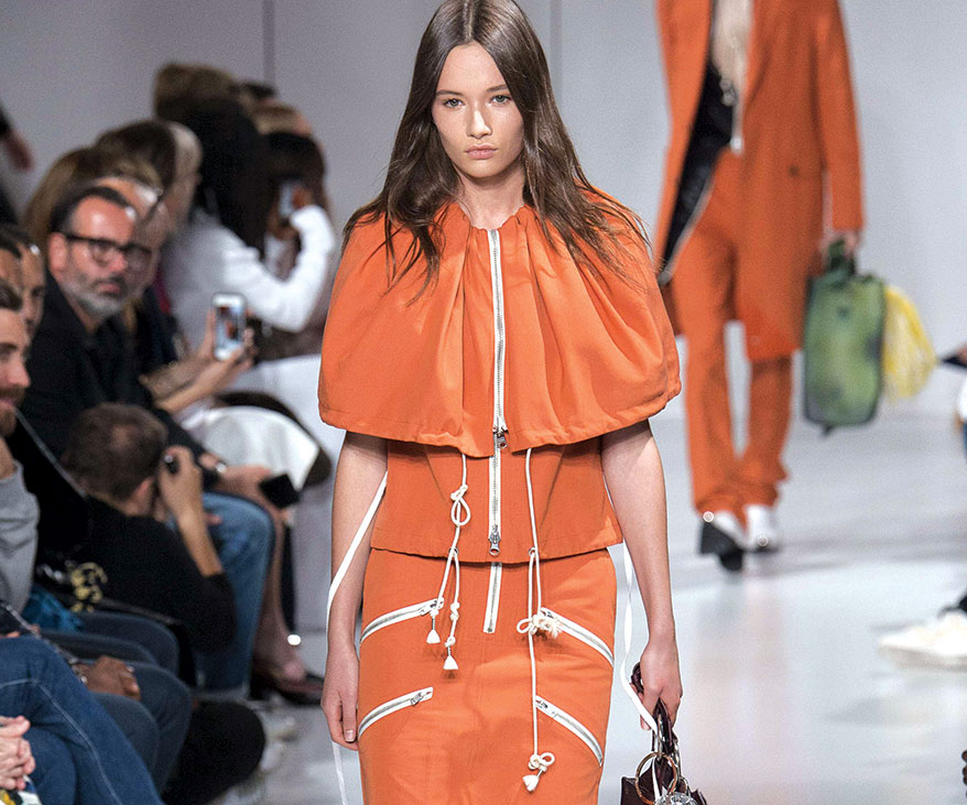 Orange is the New Black During New York Fashion Week