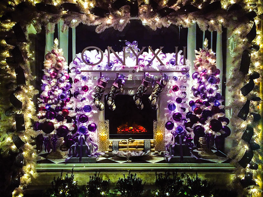 Window display at Onyx