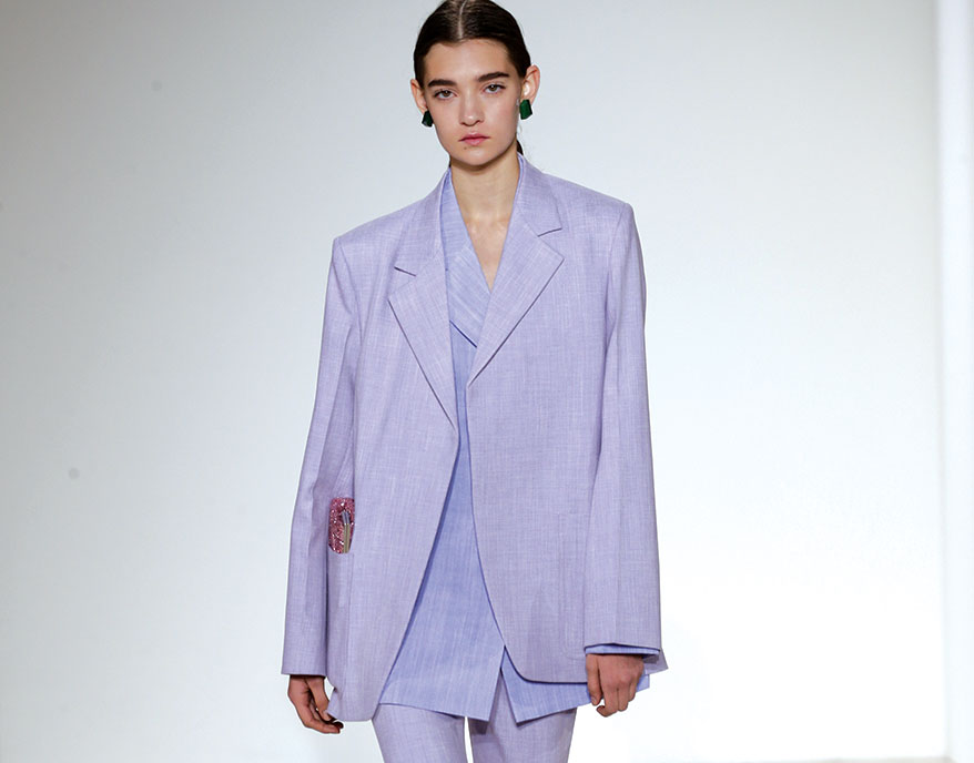 Designers Leaving a Trail of Lavender on Runways