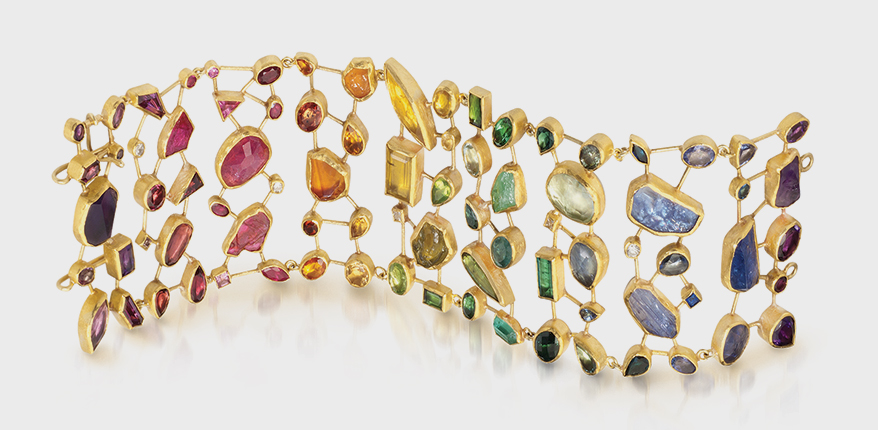 Here's the Colorful Runway Trend That's Influencing Jewelry Designs This Summer