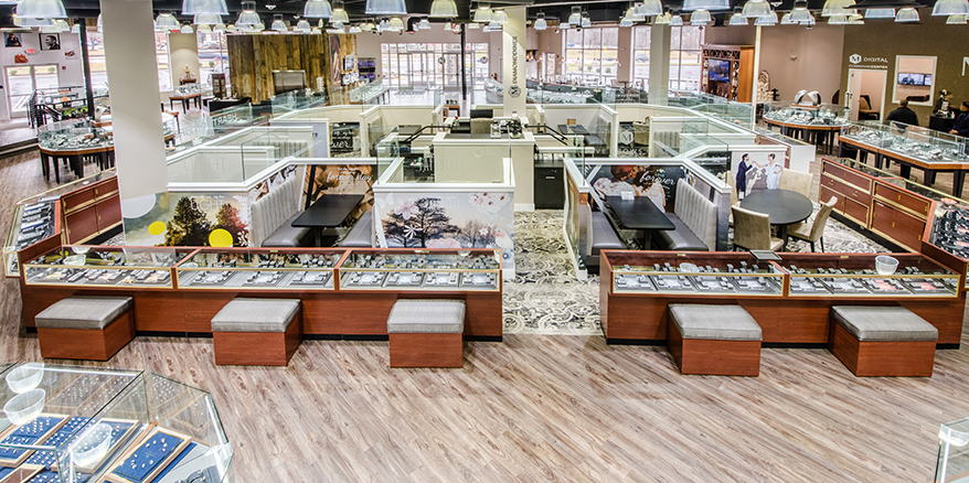 Marks Jewelers Reinvents the Jewelry Store with Flexible Layout and Diamond Diner