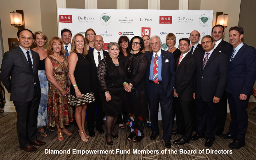 Diamond Empowerment Fund Hosts Record 2018 Diamonds Do Good Awards