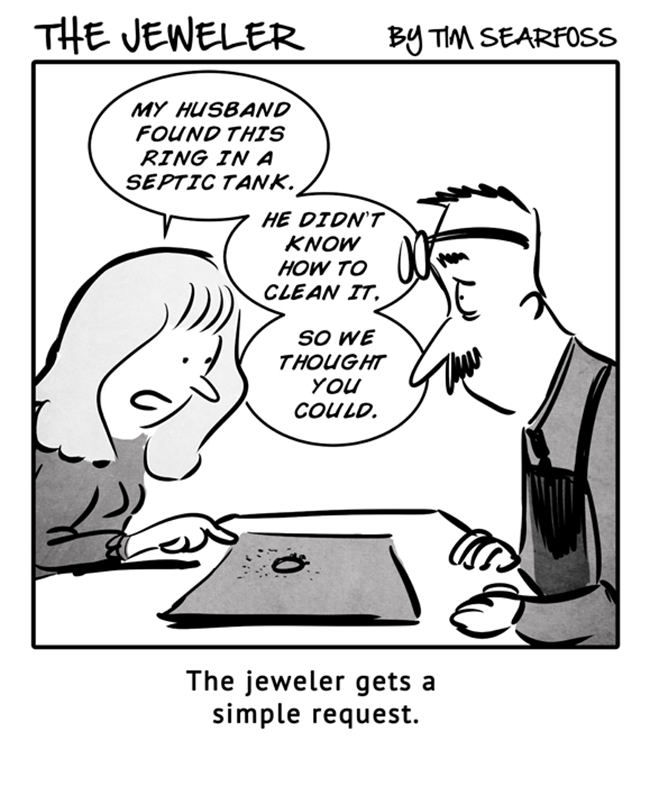 The Jeweler: You Found That Ring Where?