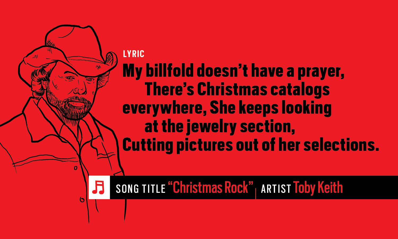 Toby Keith Christmas Rock lyrics