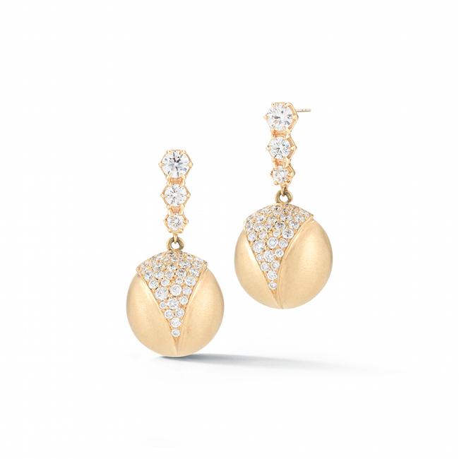 Victoria earrings from Jade Trau