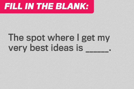 Fill in the Blank: Thinking Spot