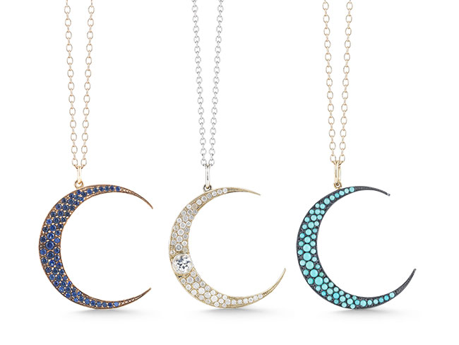Luna necklaces from Andrea Fohrman