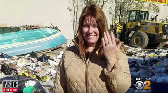 Woman Throws Rings Away, Combs Through  6 Tons of Trash to Find Them