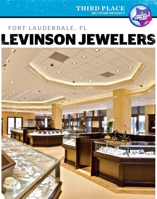 Acs 2011 third place big cool levinson jewelers for Americas best storage