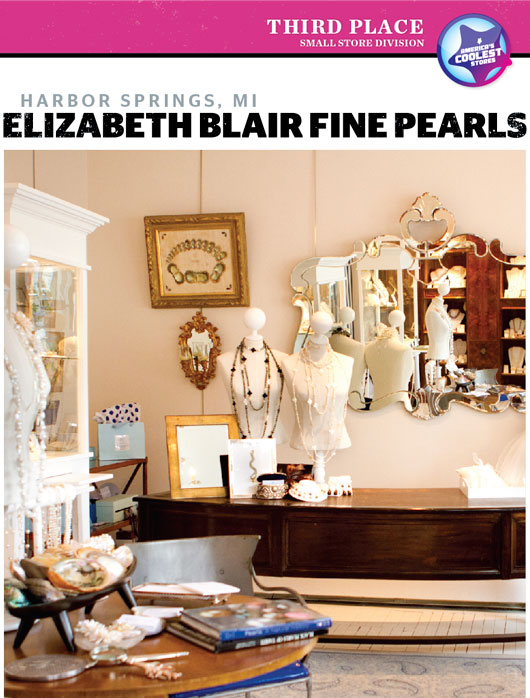 ACS 2011: Third Place, Small Cool: Elizabeth Blair Fine Pearls