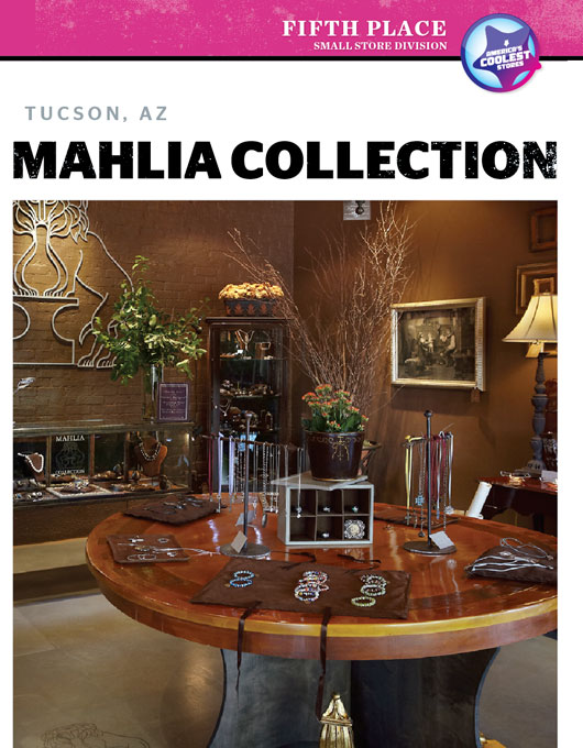 ACS 2011: Fifth Place, Small Cool: Mahlia Collection