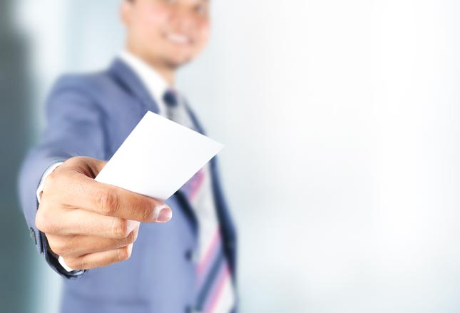 Sales Truths : Never Go Anywhere Without Your Business Card!