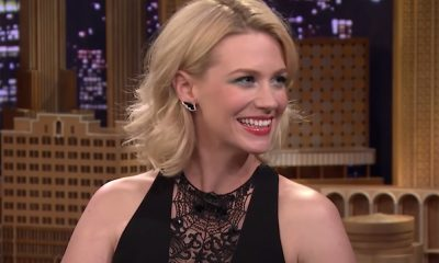 January Jones' Charm Necklace Is Perfect for All Year Long