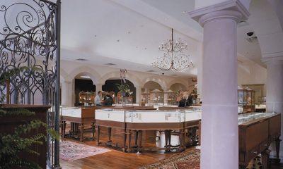 interior of The DeBoulle Salon, Texas