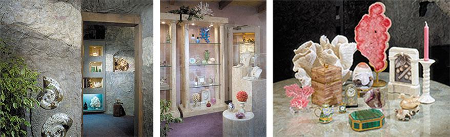 The Collector Fine Jewelry interior