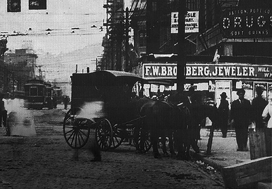 Bromberg's Downtown 1910
