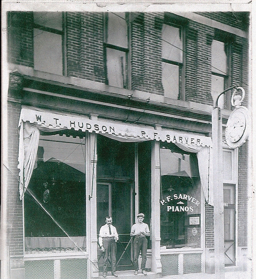 Hudson Jewelers old store