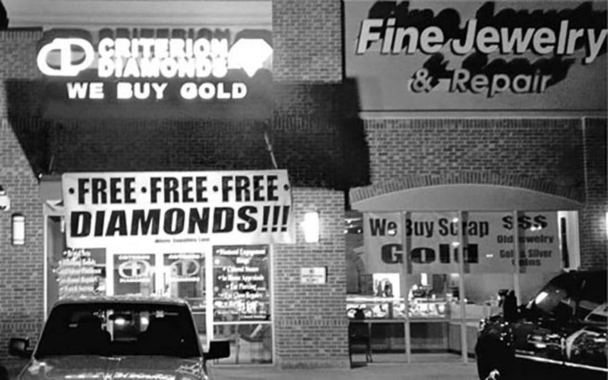 Criterion Gives Away Diamonds on Black Friday