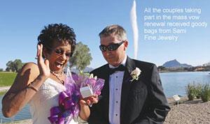 Couple renew vows