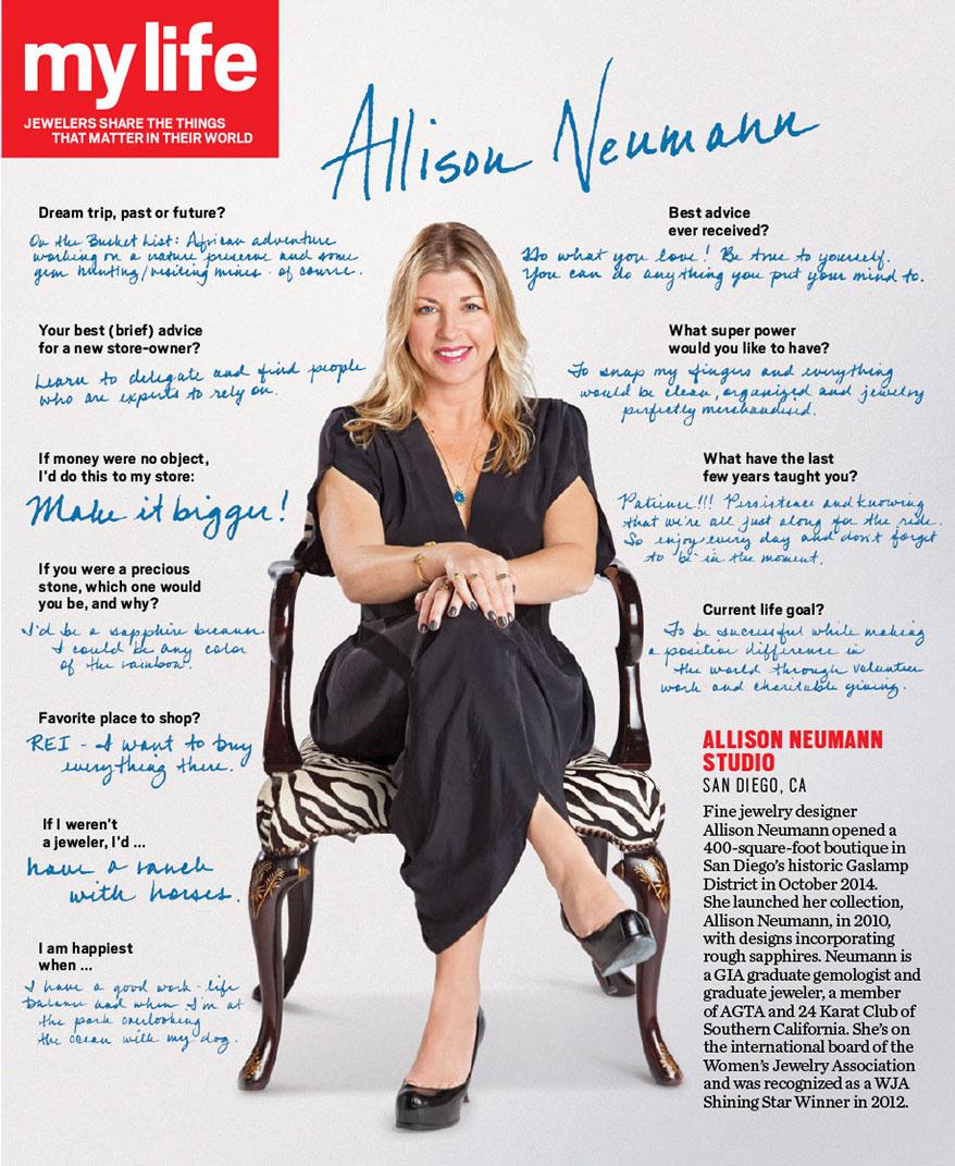 My Life: Allison Neumann