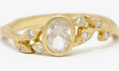 Gold ring from Jennifer Dawes Design