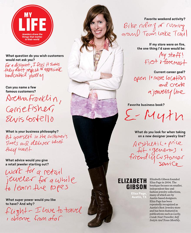 My Life: Elizabeth Gibson