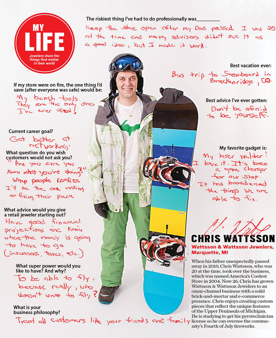 My Life: Chris Wattsson