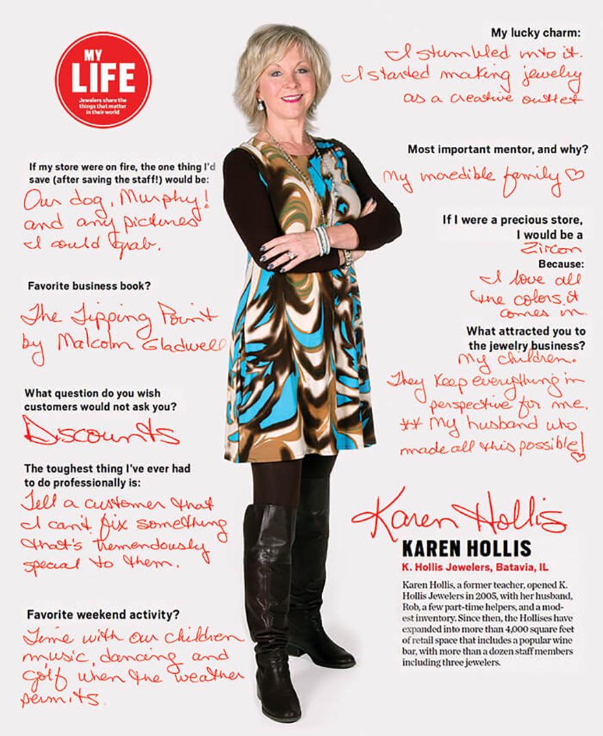 My Life: Karen Hollis