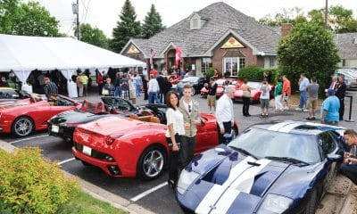Bugatti luxury car show at Wixon Jewelers