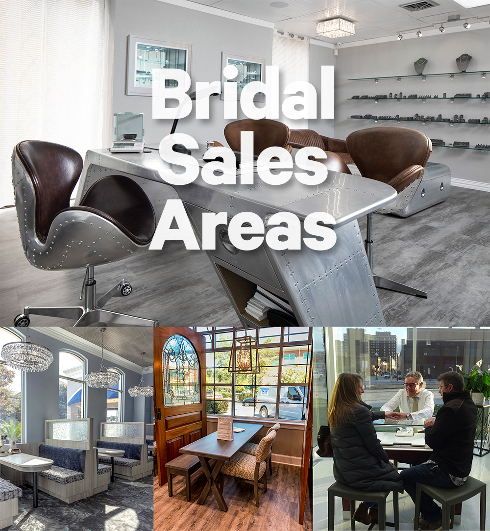16 Jewelry Store Bridal Galleries So Spectacular They'll Make You Wish You Could Marry Again