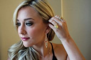 """The """"Jewel-Cam"""" took photos of clients wearing their favorite jewelry."""