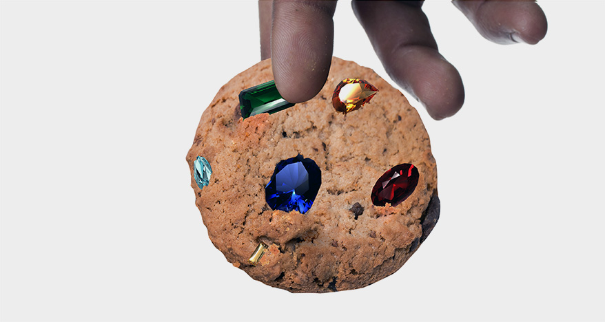 This Holiday Season, Put a Gemstone in a Cookie
