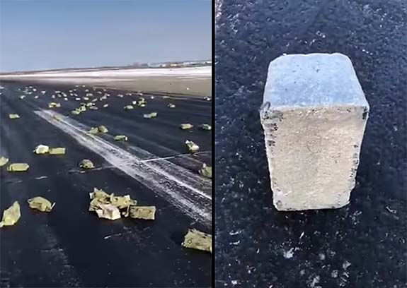 City Pelted with $368M in Diamonds, Precious Metals As Plane Spills Cargo