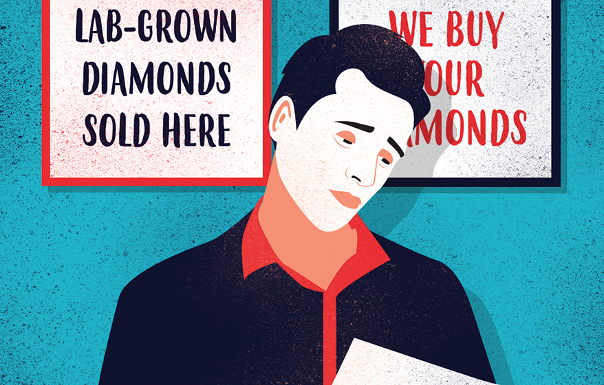 """This """"Real Deal"""" Jeweler's Nightmare Scenario with Lab-Grown Diamonds and How Retailers Suggest He Handle It"""