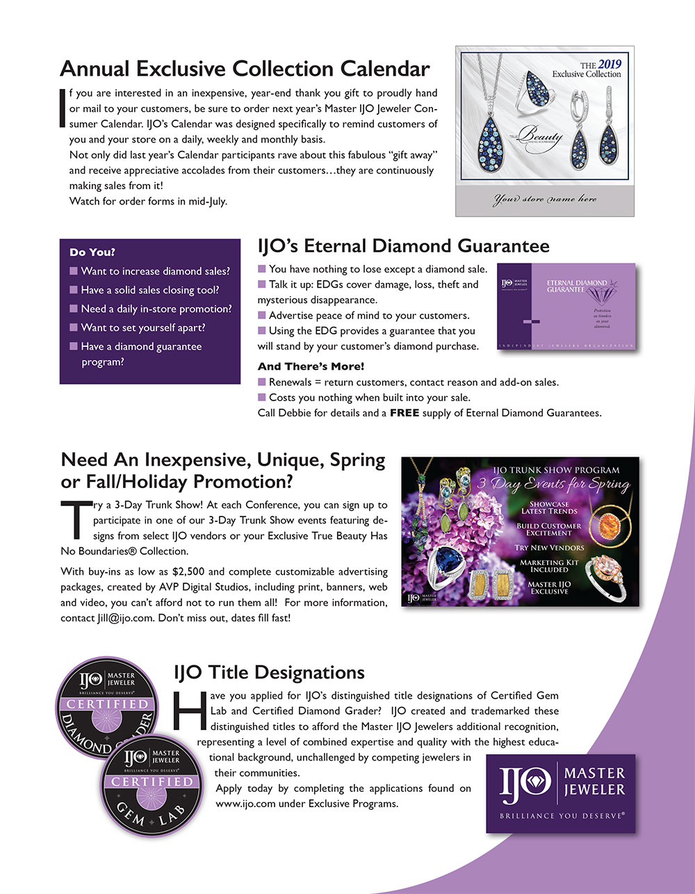 15 Ways IJO Makes You A Better Jeweler – Marketing Made Easy
