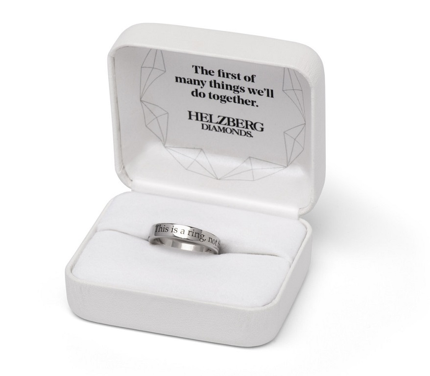 Helzberg Rolls Out 'Ring Before the Ring'