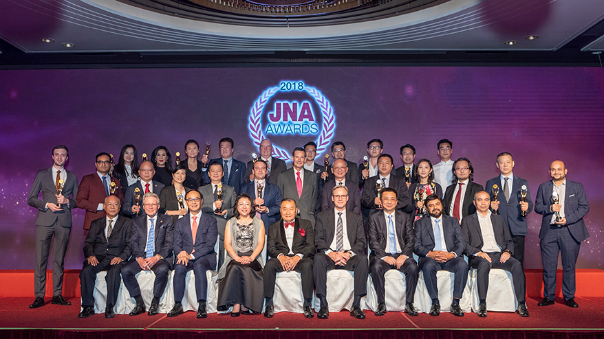 JNA Awards 2018 Recognizes Industry Forerunners and Groundbreakers
