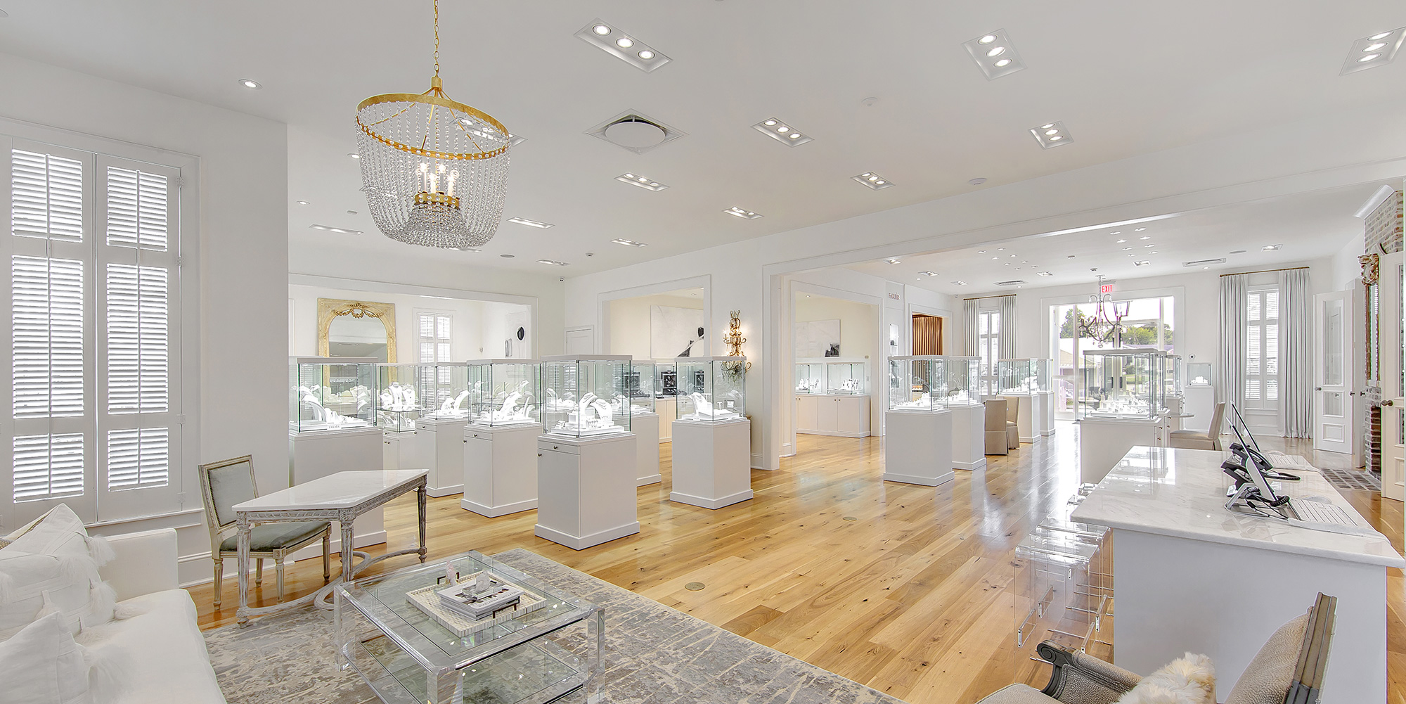 Louisiana Jewelry Store Is Inspired by Residential Design and Museum Interiors
