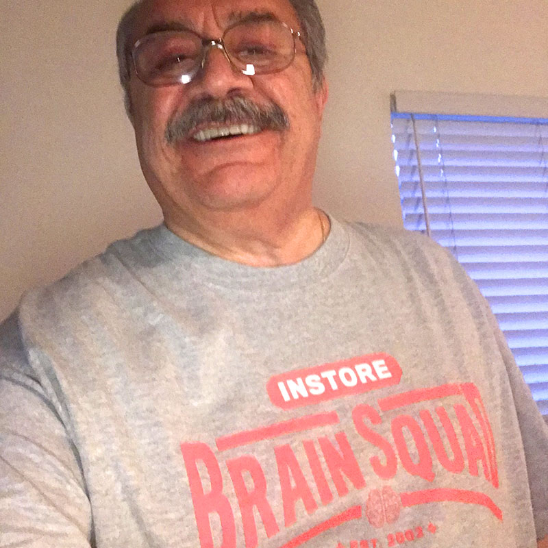 Smiles From A Santa Monica Jeweler … and More Shots of Brain Squad Members in Their INSTORE T-Shirts