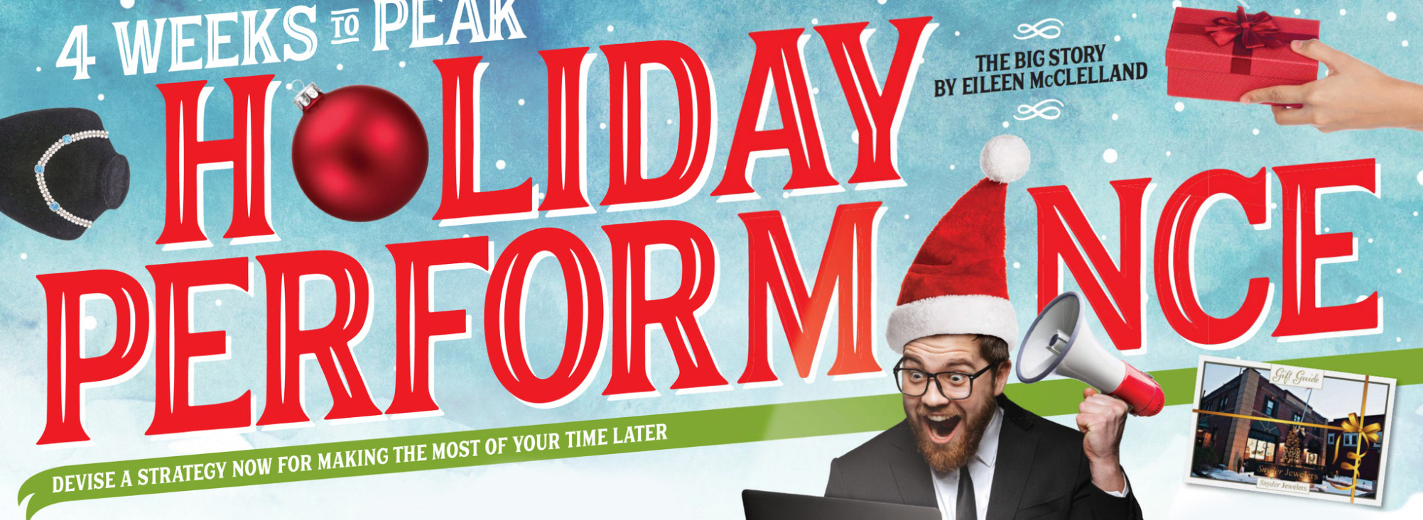 4 Weeks to Peak Holiday Performance